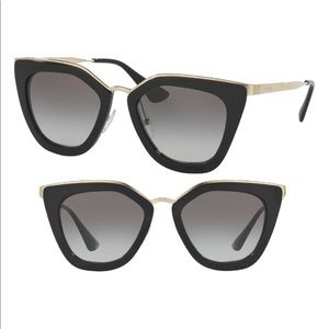 Prada 52mm Cat Eye Sunglasses